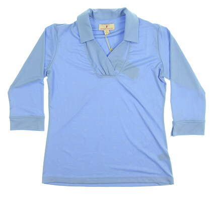 New Womens Sport Haley Golf Long Sleeve Small S Blue MSRP $65 WD013004