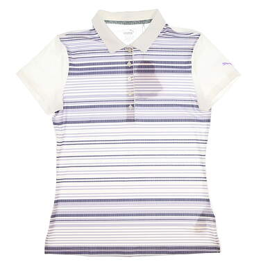 New Womens Puma Road Map Polo Small S Multi MSRP $55 574653
