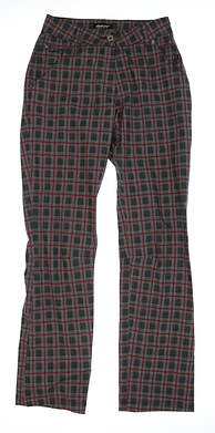 New Mens Abacus Waterproof Check Pants Size 2 Multi MSRP $165 2051