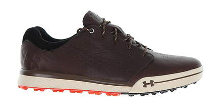 New Mens Golf Shoe Under Armour UA Tempo Hybrid 9 Brown MSRP $160