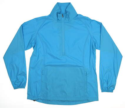 New Womens Peter Millar Jacket Medium M Blue MSRP $90 LS17EZ20