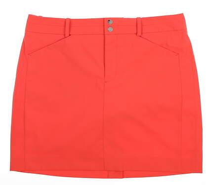 New Womens Ralph Lauren Golf Skort Size 6 Coral Glow MSRP $125