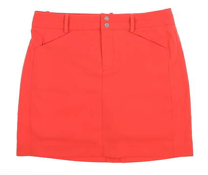 New Womens Ralph Lauren Golf Skort Size 2 Coral Glow MSRP $125
