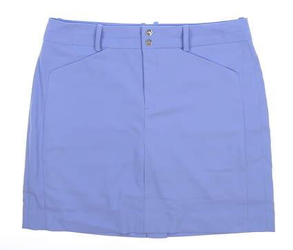 New Womens Ralph Lauren Golf Skort Size 6 Blue MSRP $125