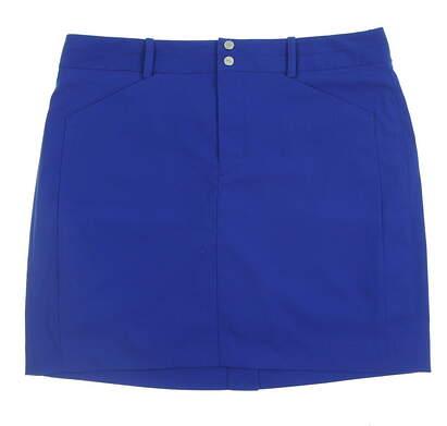 New Womens Ralph Lauren Golf Skort Size 10 Blue MSRP $125