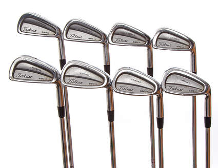 Titleist 690.CB Forged Iron Set 3-PW True Temper Dynamic Gold S300 Steel Stiff Right Handed 38 in