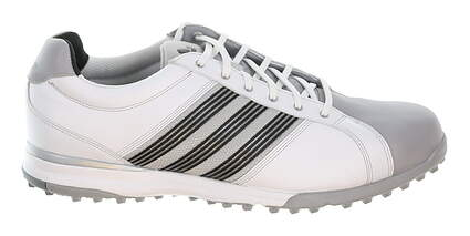 New Mens Golf Shoe Adidas Adicross Tour Spikeless 12.5 White MSRP $120