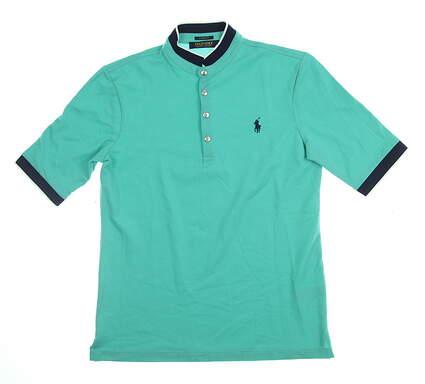 New Womens Ralph Lauren Golf Polo Small S Green MSRP $70