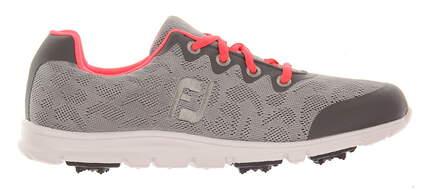New Womens Golf Shoe Footjoy enJoy 6.5 Gray MSRP $80