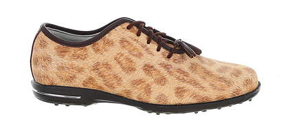 New Womens Golf Shoe Footjoy Tailored Collection Medium 7 Brown MSRP $150