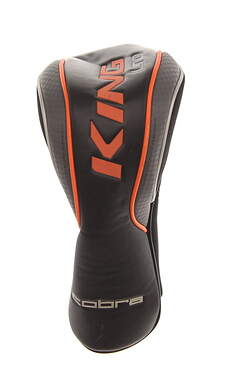Cobra King 2016 LTD Driver Headcover Checkered Gray/Orange