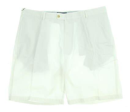 New Mens Peter Millar Golf Shorts Size 38 White MSRP $85 MC00B31
