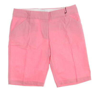 New Womens Peter Millar Golf Shorts Size 10 Pink MSRP $98 LS14B02
