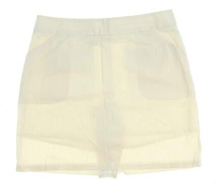 New Womens Peter Millar Golf Skort Size 12 Tan MSRP $98 LS14B11