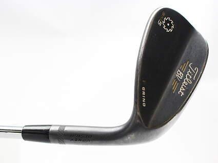 Titleist Vokey SM5 Raw Black Wedge Sand SW 54* 14 Deg Bounce F Grind Project X 6.0 Steel Stiff Right Handed 36 in