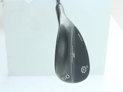 Titleist Vokey SM5 Raw Black Wedge Lob LW 60* 4 Deg Bounce L Grind SM6 BV Steel Wedge Flex Right Handed 35 in