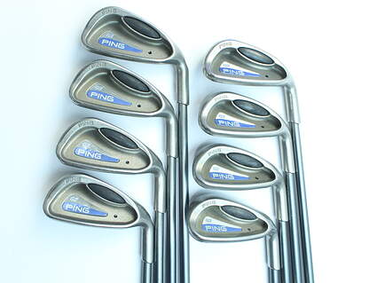Ping G2 Iron Set 5-PW GW SW Ping TFC 100I Graphite Regular Right Handed Black Dot 37.75 in