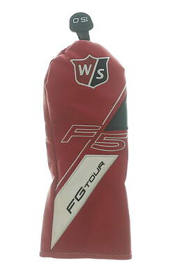 Wilson Staff FG Tour F5 15° 3 Fairway Wood Headcover Red/Black/White