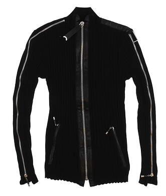 New Mens Jamie Sadock Golf Long Sleeve Medium M Black MSRP $90