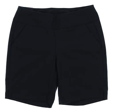 New Womens Under Armour Golf Shorts Size Medium M Black MSRP $76 UW6679