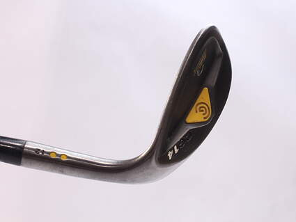 Cleveland CG14 Gunmetal Wedge Lob LW 60* 12 Deg Bounce Cleveland Traction Wedge Steel Wedge Flex Right Handed 35.75 in