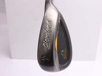 Cleveland CG14 Gunmetal Wedge Sand SW 54* 12 Deg Bounce Cleveland Traction Wedge Steel Wedge Flex Right Handed 35.5 in