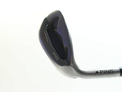 Ping Tour Gorge Wedge Sand SW 56* Standard Sole Ping CFS Steel Stiff Left Handed Black Dot 35.25 in