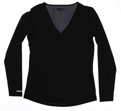 New Womens Jamie Sadock Long Sleeve Small S Black MSRP $80 61127