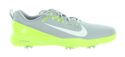 New Mens Golf Shoe Nike Lunar Command 10 Gray MSRP $150