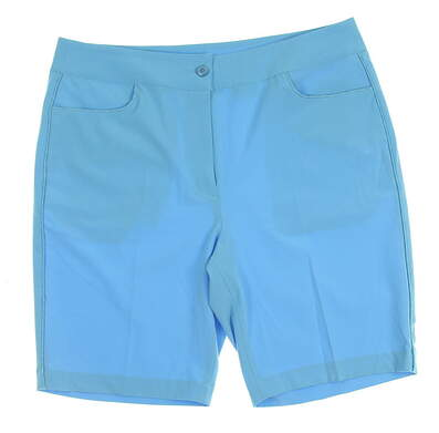 New Womens EP Pro Golf Shorts Size 6 Blue MSRP $82