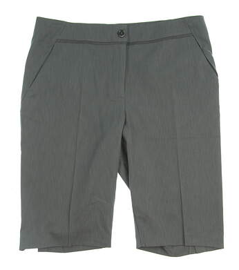 New Womens EP Pro Golf Shorts Size 8 Gray MSRP $84