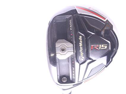 TaylorMade R15 Fairway Wood 3 Wood 3W 15* MRC Kuro Kage Silver TiNi 70 Graphite Stiff Left Handed 43.25 in