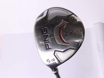 Ping G20 Fairway Wood 5 Wood 5W 18* Ping TFC 169F Tour Graphite Stiff Left Handed 41.75 in