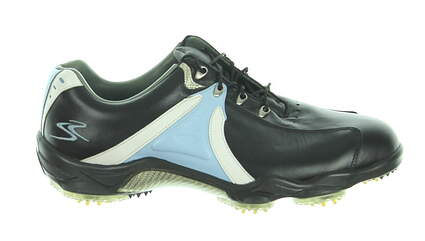 New Mens Golf Shoe Footjoy My Joys Medium 10.5 Black/Blue MSRP $200