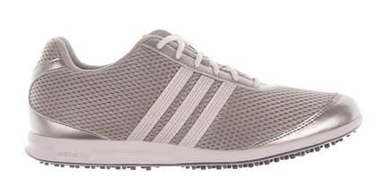 New Womens Golf Shoe Adidas Adicross S Medium 6 Gray MSRP $100