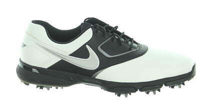 New Mens Golf Shoe Nike Heritage Medium 10 White/Black MSRP $85 552069