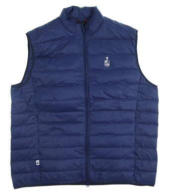 New Mens Johnnie-O Vest XX-Large XXL Blue MSRP $145 JMVT1110