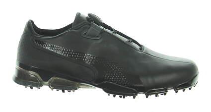 New Mens Golf Shoe Puma TITANTOUR IGNITE Premium DISC Medium 11.5 Black MSRP $180