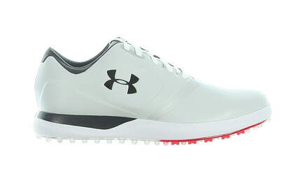 New Mens Golf Shoe Under Armour UA Performance Spikeless 9.5 Gray MSRP $140