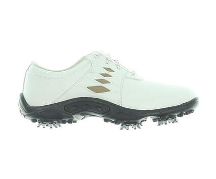 New W/O Box Boys Golf Shoe Footjoy Contour Casual Medium 4 White MSRP $100 45065