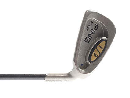 Ping i3 Blade Single Iron 3 Iron Ping Aldila 350 Series Graphite Stiff Right Handed Blue Dot 39.5 in