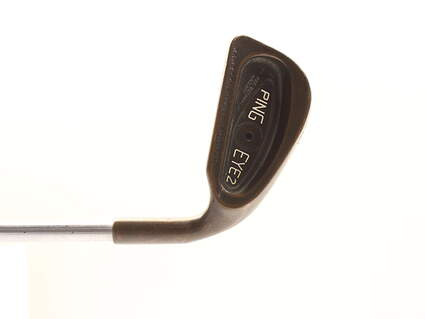 Ping Eye 2 Beryllium Copper Single Iron 3 Iron Stock Steel Shaft Steel Stiff Right Handed Black Dot 38.5 in