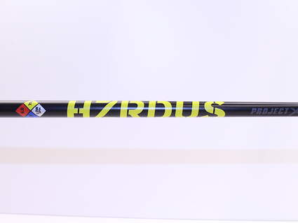 "Cobra Project X HZRDUS Yellow 76g Driver Shaft 6.0 Stiff Flex 43.75"" Right Handed Cobra Adapter Arccos F8"