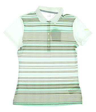 New Womens Puma Golf SS18 Polo Small S Multi MSRP $50 574653