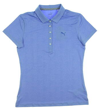 New Womens Puma Golf SS18 Polo Small S Purple MSRP $55 574655
