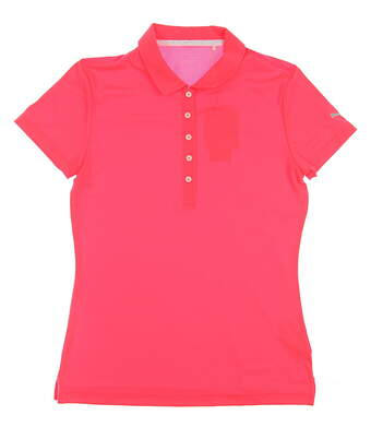 New Womens Puma Golf SS18 Polo Small S Red MSRP $55 574652