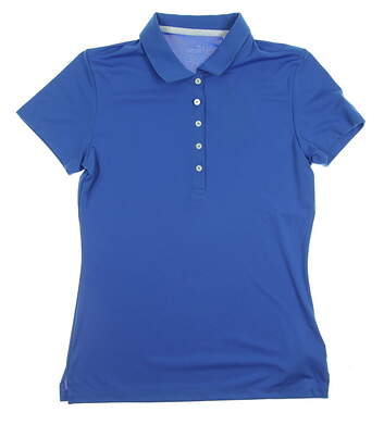 New Womens Puma Golf SS18 Polo Small S Blue MSRP $55 574652