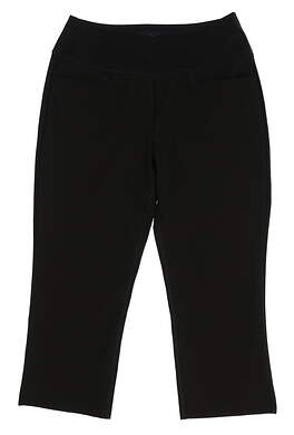 New Womens Puma SS18 Golf Pants Size Small S Black MSRP $70 574624