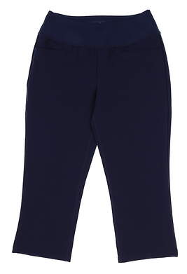 New Womens Puma SS18 Golf Pants Size Small S Navy Blue MSRP $70 574624