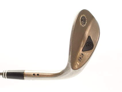 Cleveland CG14 Gunmetal Wedge Lob LW 58* 2 Dot Mid Bounce Cleveland Traction Wedge Steel Wedge Flex Right Handed 35 in